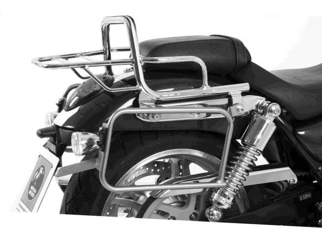 Triumph Thunderbird 1600 Topcase carrier - Tube Type - Chrome - Bike 'N' Biker