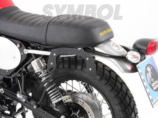 Triumph Tiger 800 XC Legacy carrier black - Bike 'N' Biker