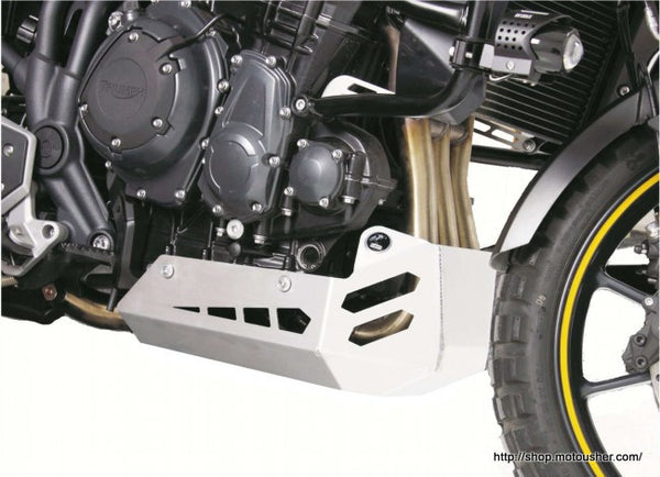 Triumph Tiger Explorer 1200 Engine protecting plate Hepco Becker - Bike 'N' Biker