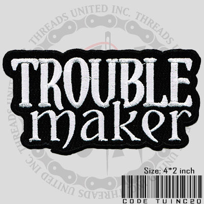 Trouble Maker Patch - Bike 'N' Biker