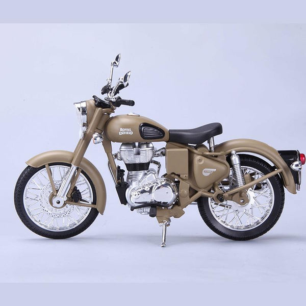 Royal Enfield Classic 500 Desert Storm 1:12 Scale Model - Maisto