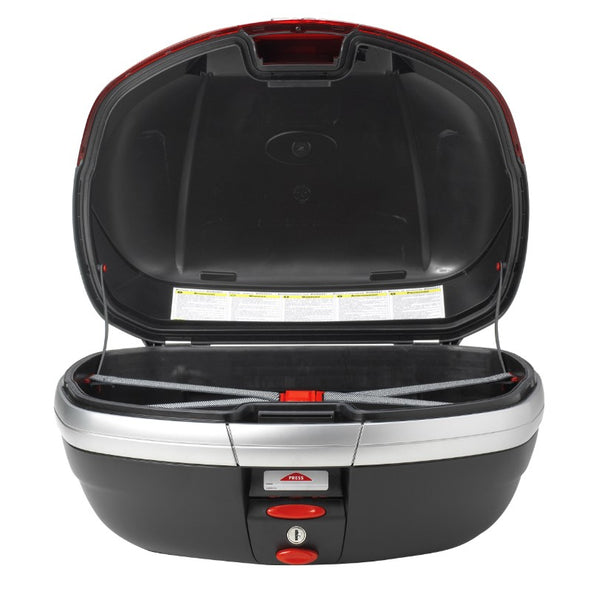 V46 Tech Top Case with Smoked Reflectors - Givi