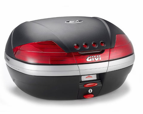 V46N Top Case with Red Reflectors - Givi
