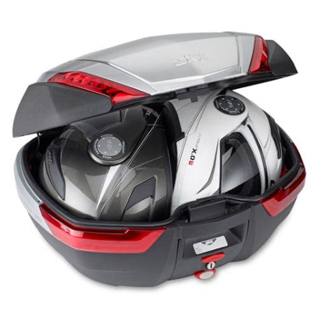 V47NN Top Case with Red Reflectors - Givi