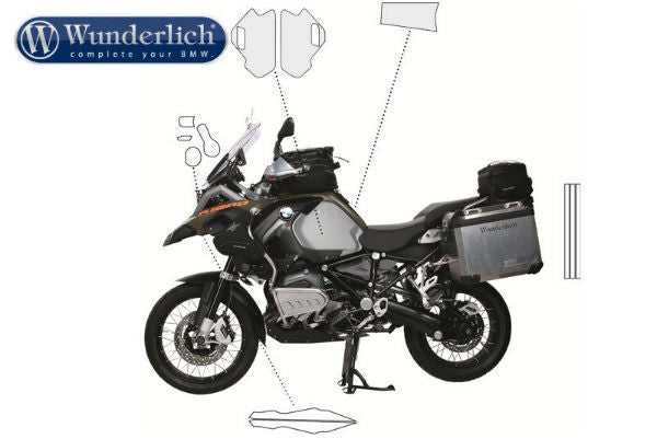 BMW R1200GSA Protection - Paint Protection - Bike 'N' Biker