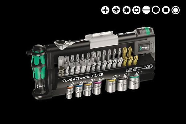 "Ratchet + Screwdriver Kit (1/4"") - Tool Check - Wera Tools"