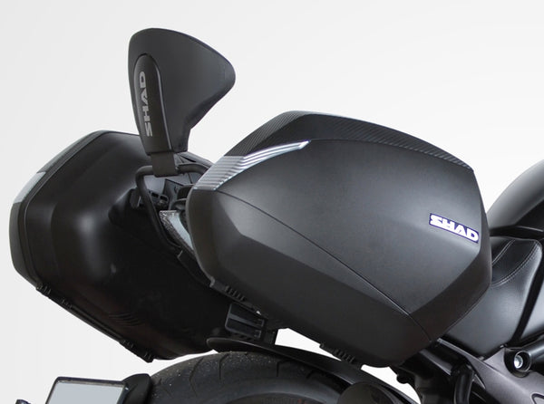 SHAD Backrest for Ducati Diavel