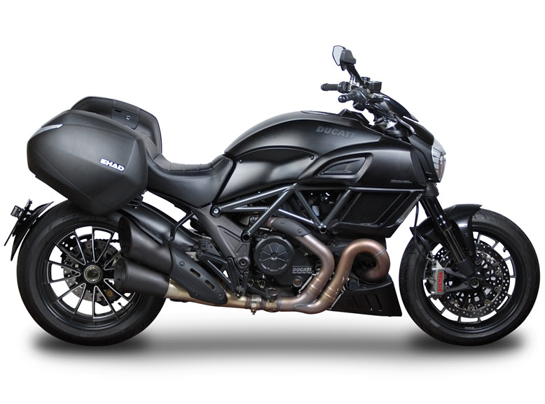 SHAD 3P System Fitting - Ducati Diavel