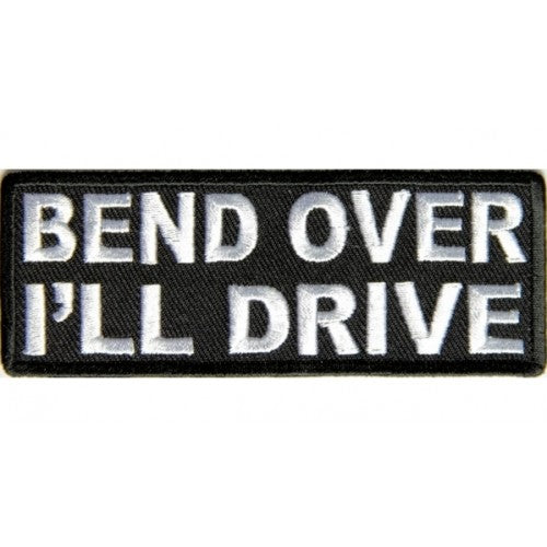 Bend Over Patch - Bike 'N' Biker