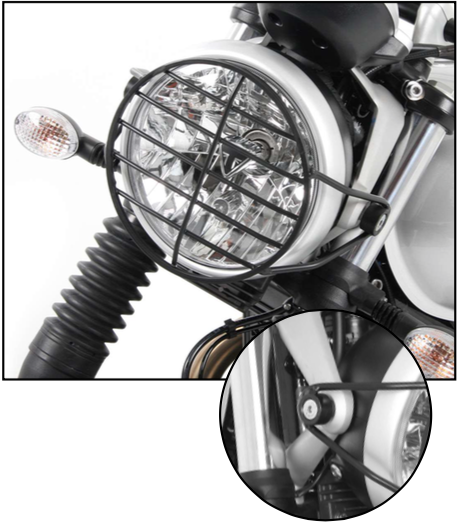 Triumph Street Scrambler Headlight Guard