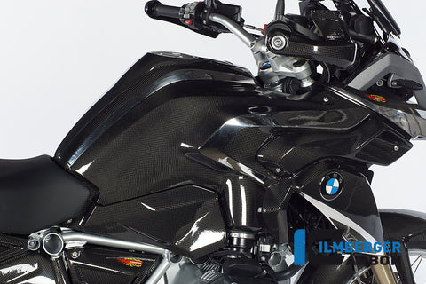 Carbon Side Tank Cover for BMW R1200GS LC - Ilmberger Carbon