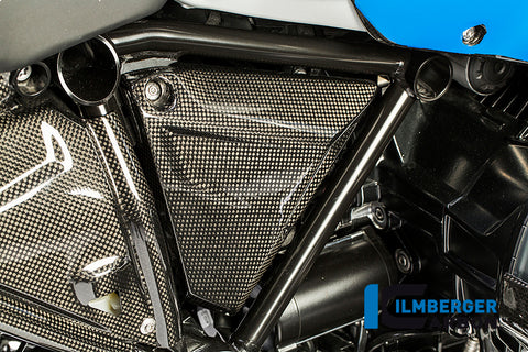 Triangular Frame Cover, Right for BMW R1200GS/Adventure LC - Ilmberger Carbon