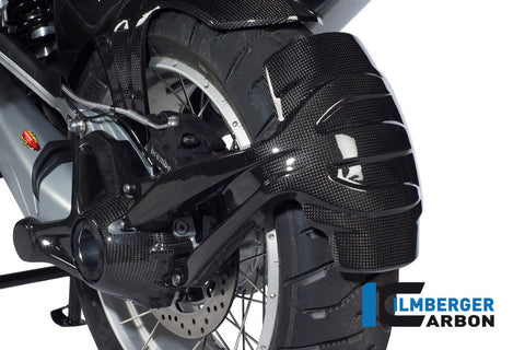 Rear Splash Guard for BMW R1200GS/Adventure LC (2013-17) - Ilmberger Carbon