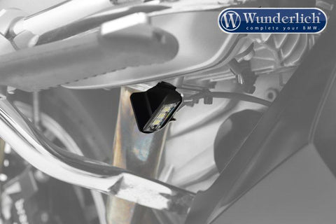 BMW R1200GS Ergonomics - Side Stand Illuminator