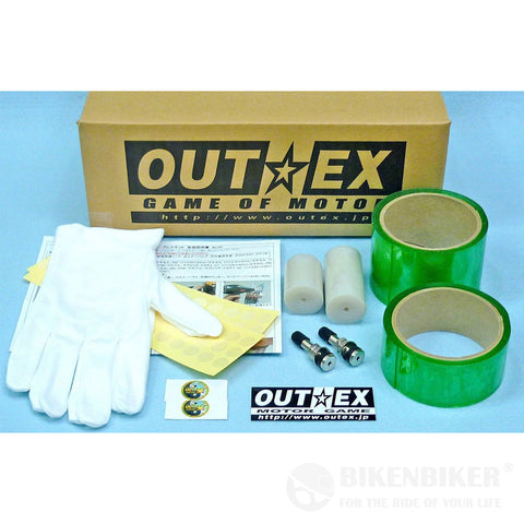 Tubeless Conversion Kit for Royal Enfield Continental GT & Interceptor 650 - Outex