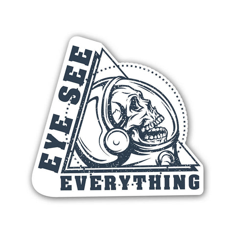 Eye see Everything - Sticker - Inline-4