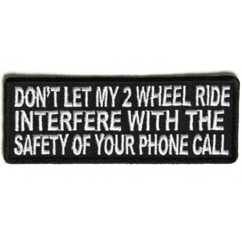 Phone Call Patch - Bike 'N' Biker
