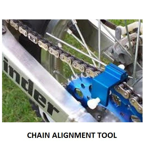 Motorcycle Chain Alignment Tool - Bike 'N' Biker