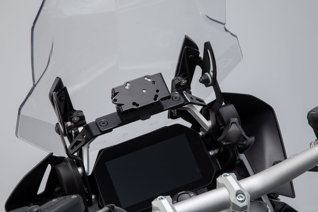 GPS mount for cockpit Black BMW R1200GS (13-), R1250GS (18-) - SW-Motech