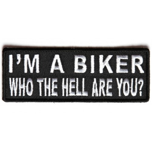 I'm a Biker Patch - Bike 'N' Biker