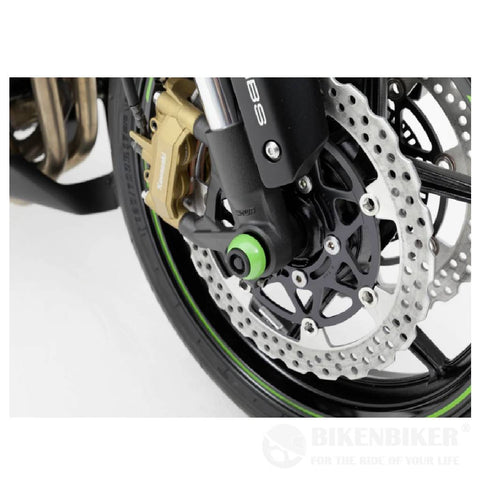 Kawasaki V1000 Protection - Axle Sliders
