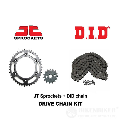 Triumph Street Twin Spares - Sprockets Spares - Kit :- DID Chain + JT Sprocket