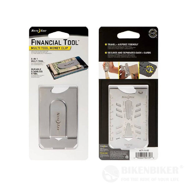 Money Clip With Tools