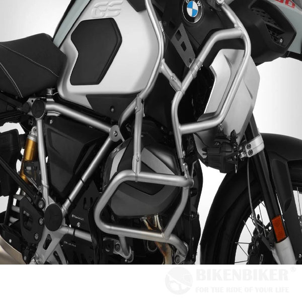 BMW R1250 GSA Protection - Reinforcement Engine To Tank Guard - Stainless Steel - Wunderlich