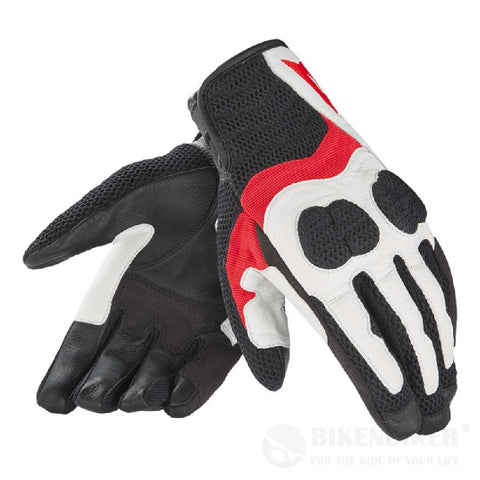 Air Mig Lady Gloves - White/Red/Black