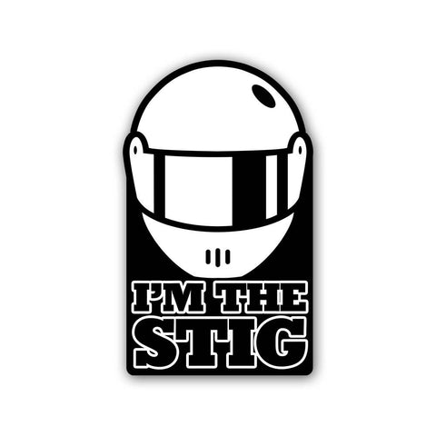 I'm the Stig - Sticker - Inline-4