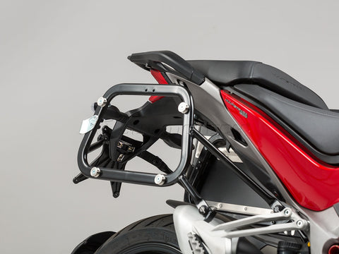 Quick Lock EVO Side Carrier for Ducati Multistrada - SW-Motech - Bike 'N' Biker