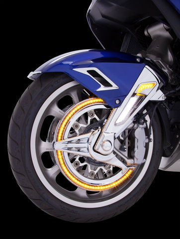 LED Rotor Covers - Honda Goldwing - Ciro Goldstrike