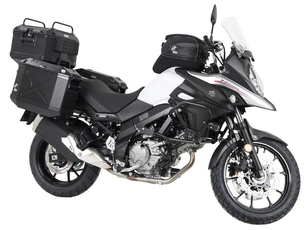 "Suzuki V-Strom 650 Side Case Carrier ""Quick Release"""