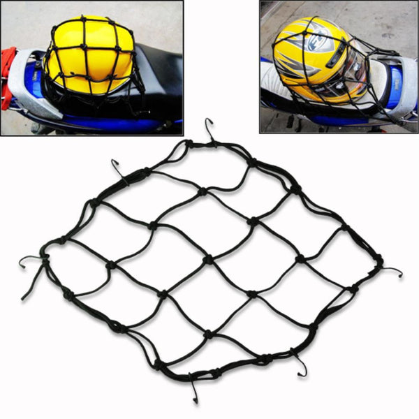 Bungee Cord net for Motorcycle and Cars Large 40cm x 40cm - Bike 'N' Biker