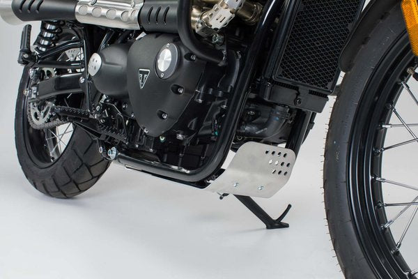 Triumph Street Scrambler/ Speed Twin (19-)/ Street Twin (16-)/T100 (16-)/ T120 (15-) Engine Guard (Skid Plate) - SW-Motech