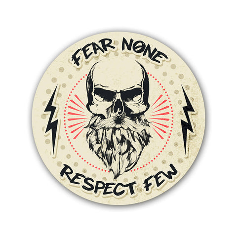 Fear None - Sticker - Inline-4