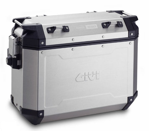 Trekker Outback 37 Side Cases Silver - Givi
