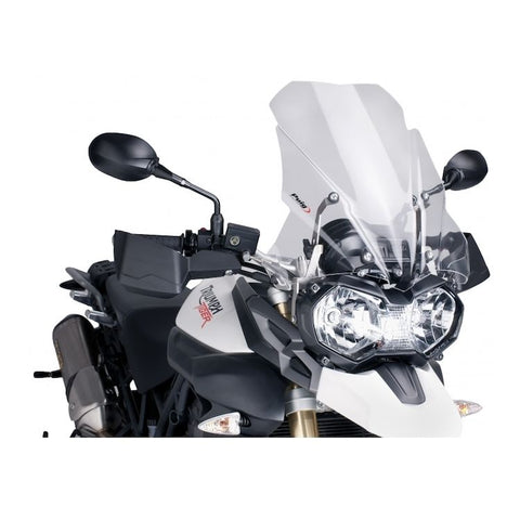 Touring Windscreen for Triumph Tiger 800 / XC / XCa / XCx / XR / XRt / XRx (2011-17) - Puig