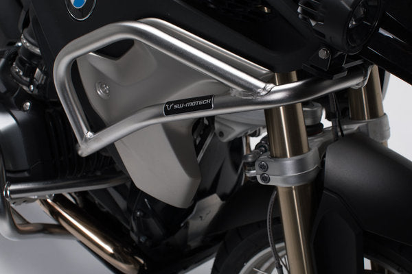 Upper crash bar Stainless steel BMW R1200GSLC (16-)/Rallye (17-)/R1250GS