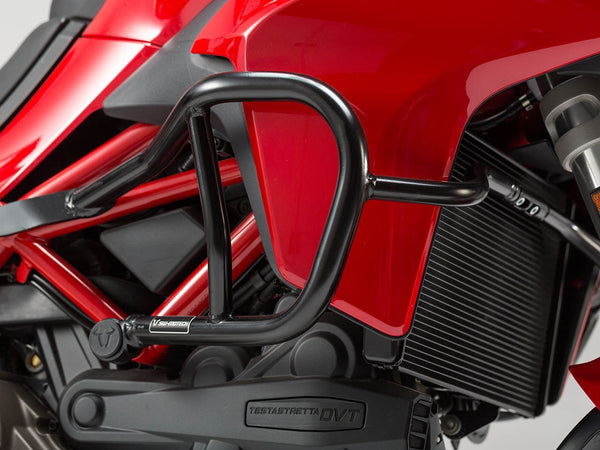 Crash protection guard for Ducati Multistrada - SW-Motech - Bike 'N' Biker