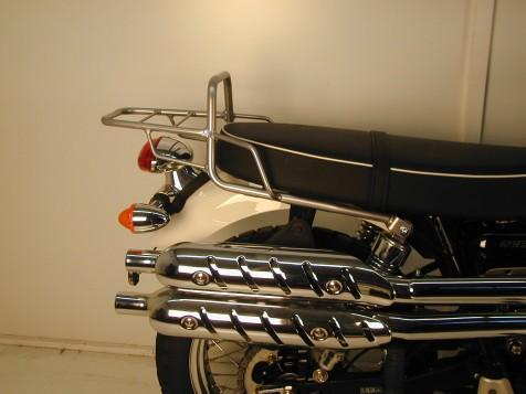 Triumph Street Scrambler Top Case Carrier Tube Type - Chrome