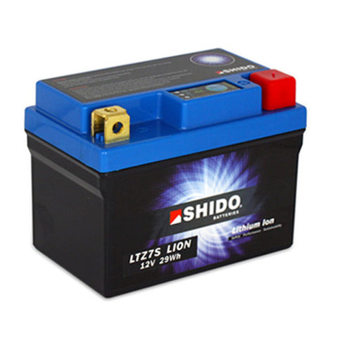 LTZ7S Lithium-Ion Motorcycle Battery - Shido
