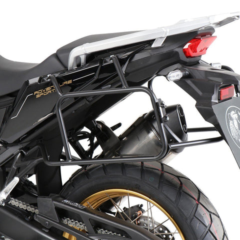 Side Carrier Black for Honda CRF 1100L Africa Twin Adventure Sports - Hepco and Becker