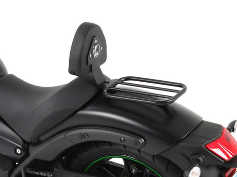 Kawasaki Vulcan S Rider Backrest with Solo Rack - Hepco & Becker - Bike 'N' Biker