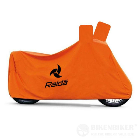 RainPro Waterproof Bike Cover – (Orange) - Raida