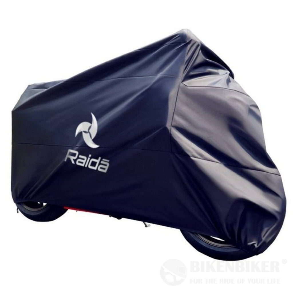 RainPro Waterproof Bike Cover – (Navy Blue) - Raida