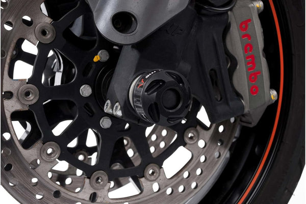 Slider set for front axle - KTM 790 Duke (18-) - SW-Motech