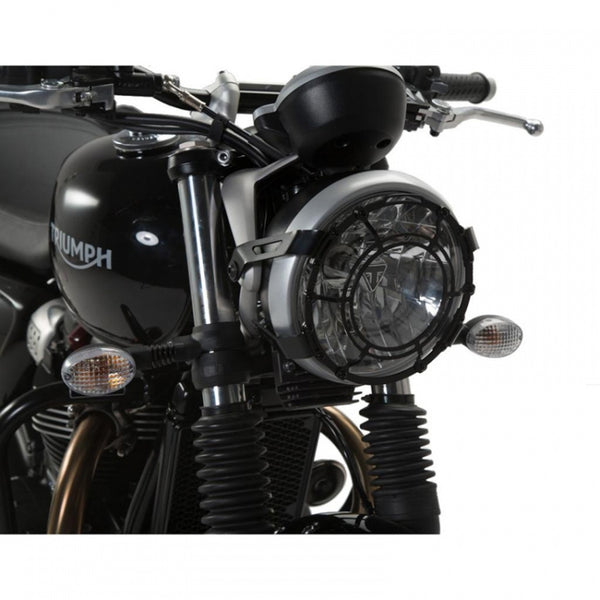 Triumph Street Scrambler/ Speed Twin (19-)/ Street Twin (16-) Headlight Guard - SW-Motech