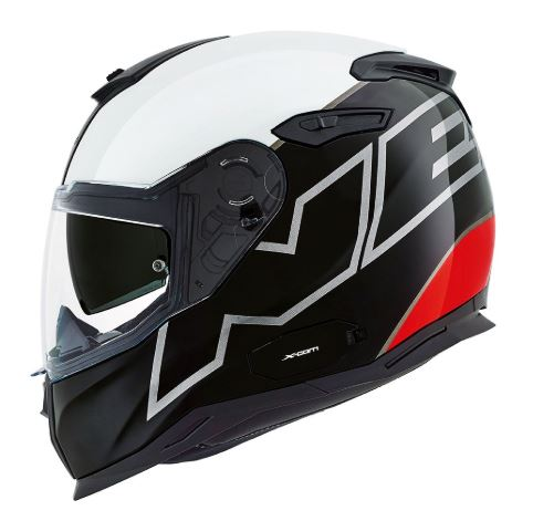 Nexx SX.100 Orion - Black/White/Red
