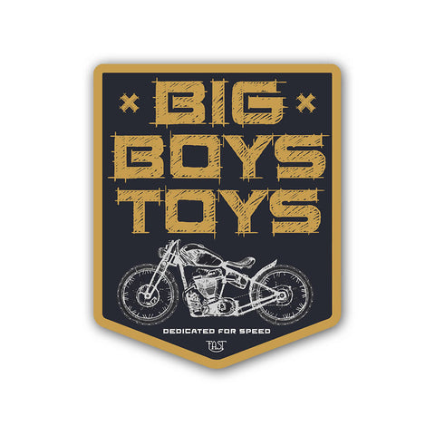 Big Boys Toys - Sticker - Inline-4